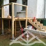 Abbund-Holz-Konstruktion