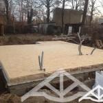 Bodenplatte Holzrahmenbau