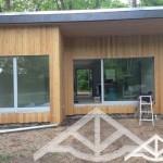 Holzrahmenbau Wochenendhaus