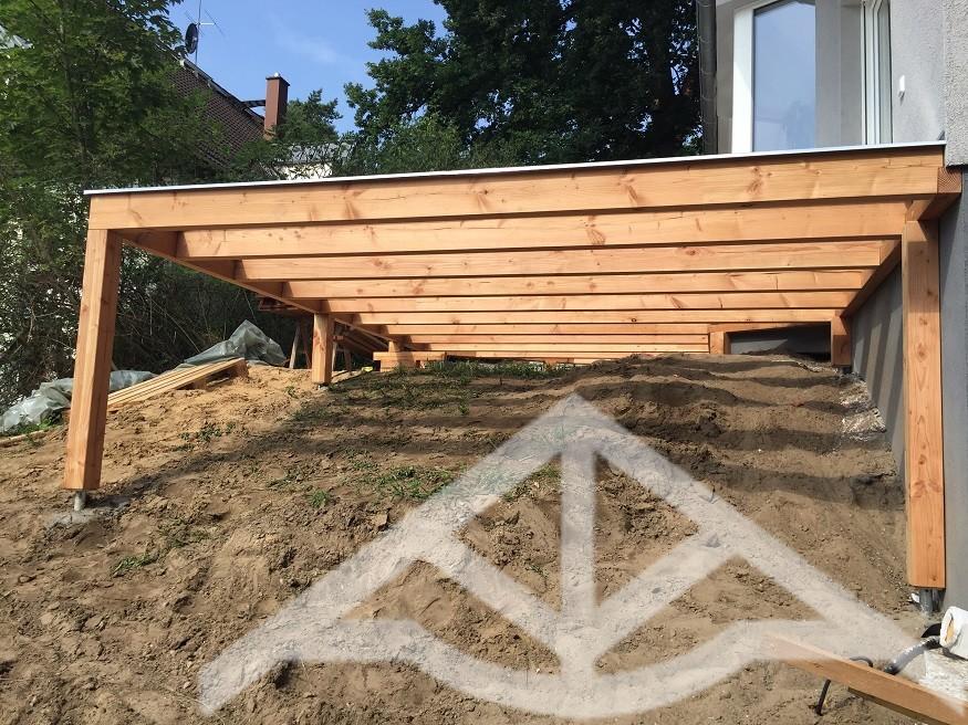 Außergewöhnliche Erhöhte Terrasse Bauen ZX43 | Casaramonaacademy