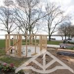 Pavillion-Holzrahmenbau