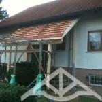 Vorbereitung Dacheindeckung