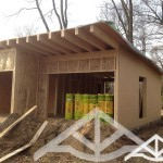 Wochenendhaus Holzrahmenbau