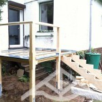 Zinkabdeckung-Holztreppe-Abbund