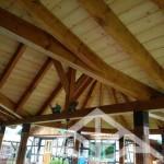 sichtbarer Dachstuhl